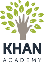Khan Academy Logo that links to site