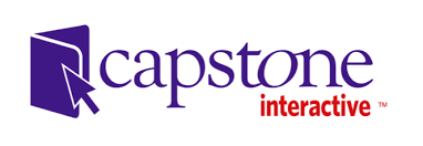 Capstone logo that links to site