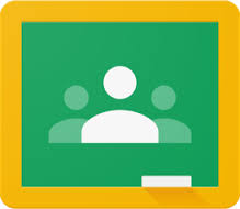 Google Classroom logo that links to site