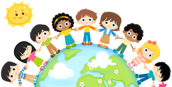 children from around the world