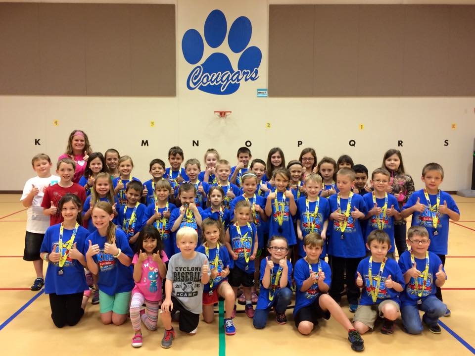 cruzer club kids with medals