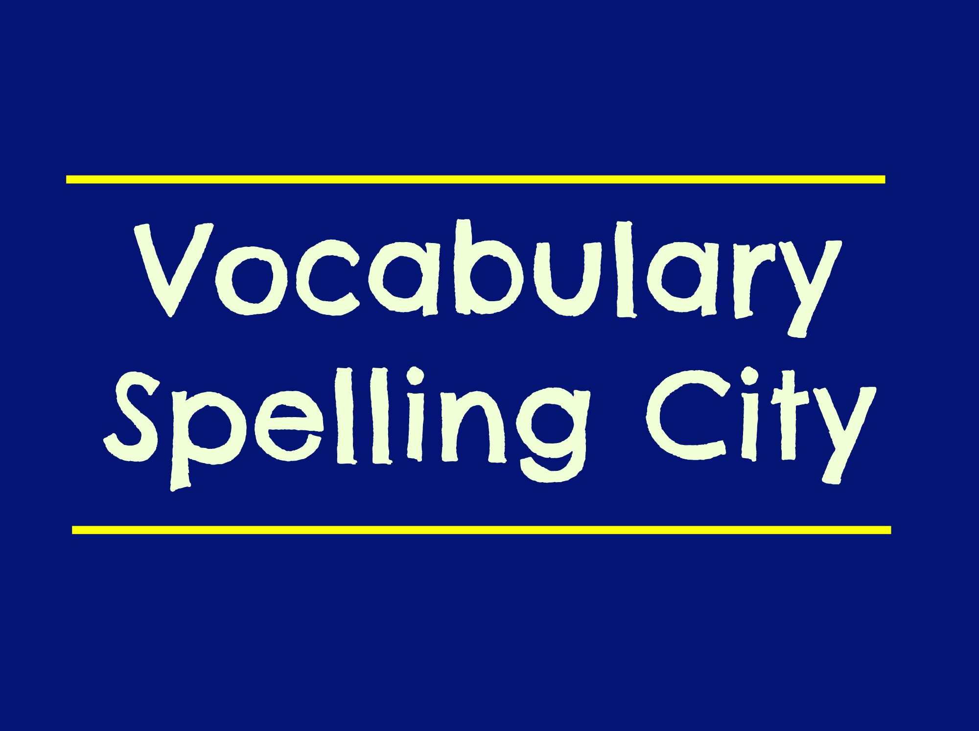 Link to Spelling City Website