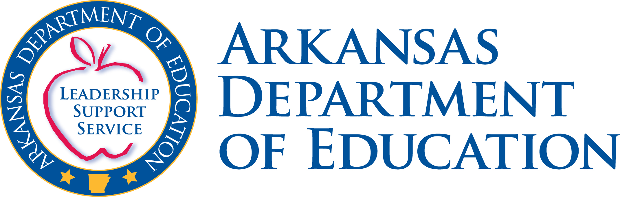 Arkansas Dept of Edu logo website link