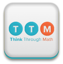 Think Through Math logo login link