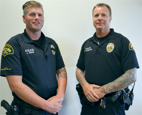 School Resource Officer Photos