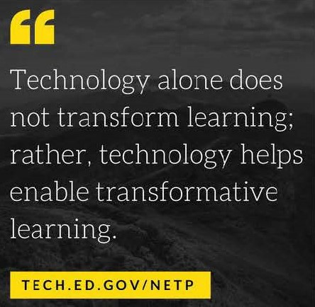 educational technology quote