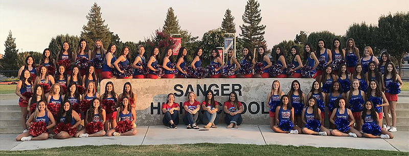 SHS cheer leaders