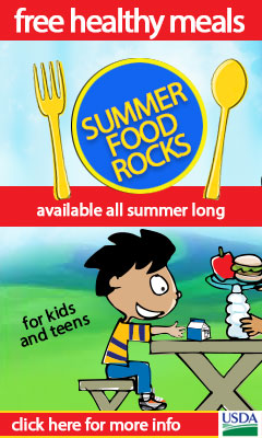 CalKidz Free Healthy Meals Cartoon Graphic