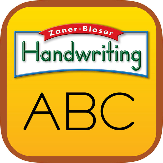 Zane-Bloser Handwriting