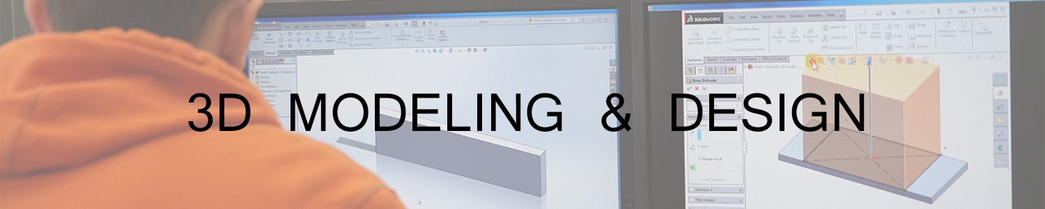 3D modeling and design