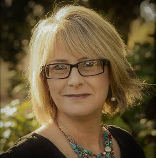 portrait photo of assistant superintendent Michelle Zevely