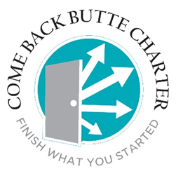Logo for Come Back Butte Charter