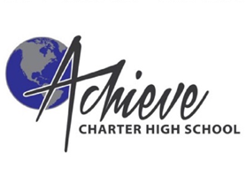Logo for Achieve Charter High School