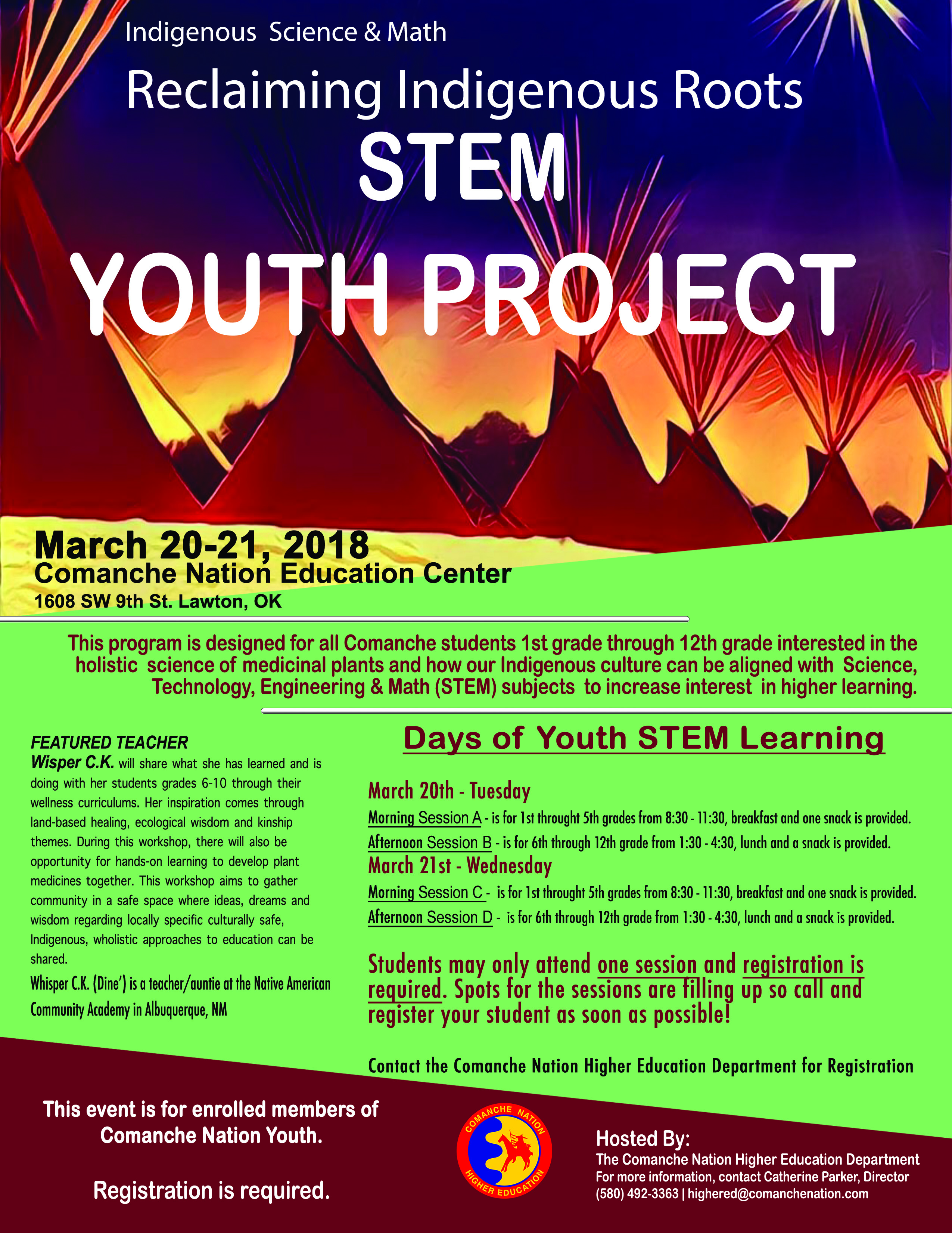 STEM Youth Project Registration