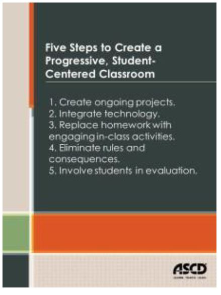 Image: Five steps to Create a Progressive, Student-Centered Classroom