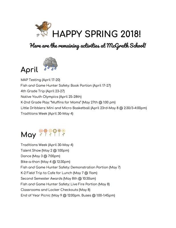 Spring Events