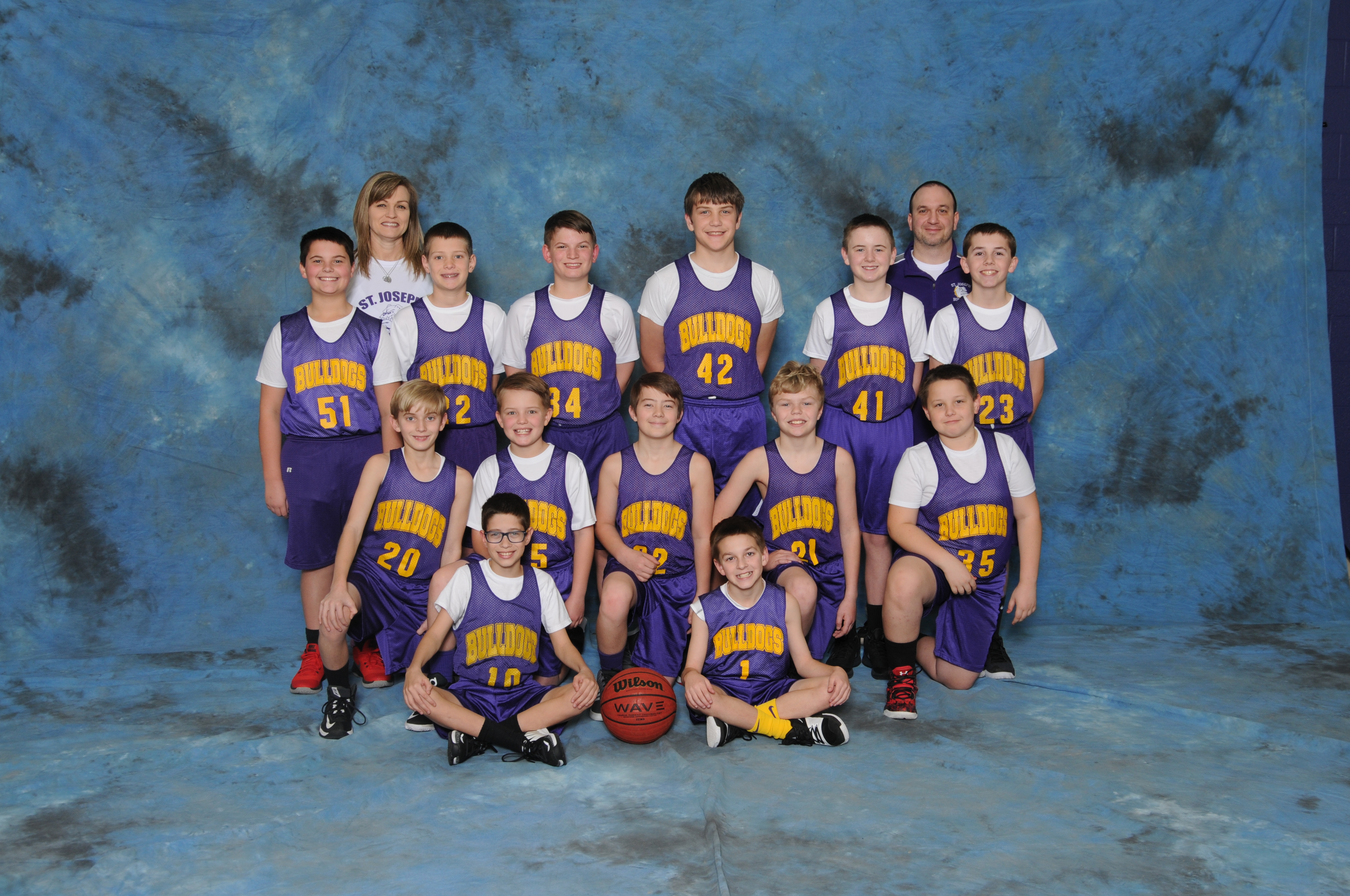 2017-2018 Boys 6th Grade Pee-Wee Basketball