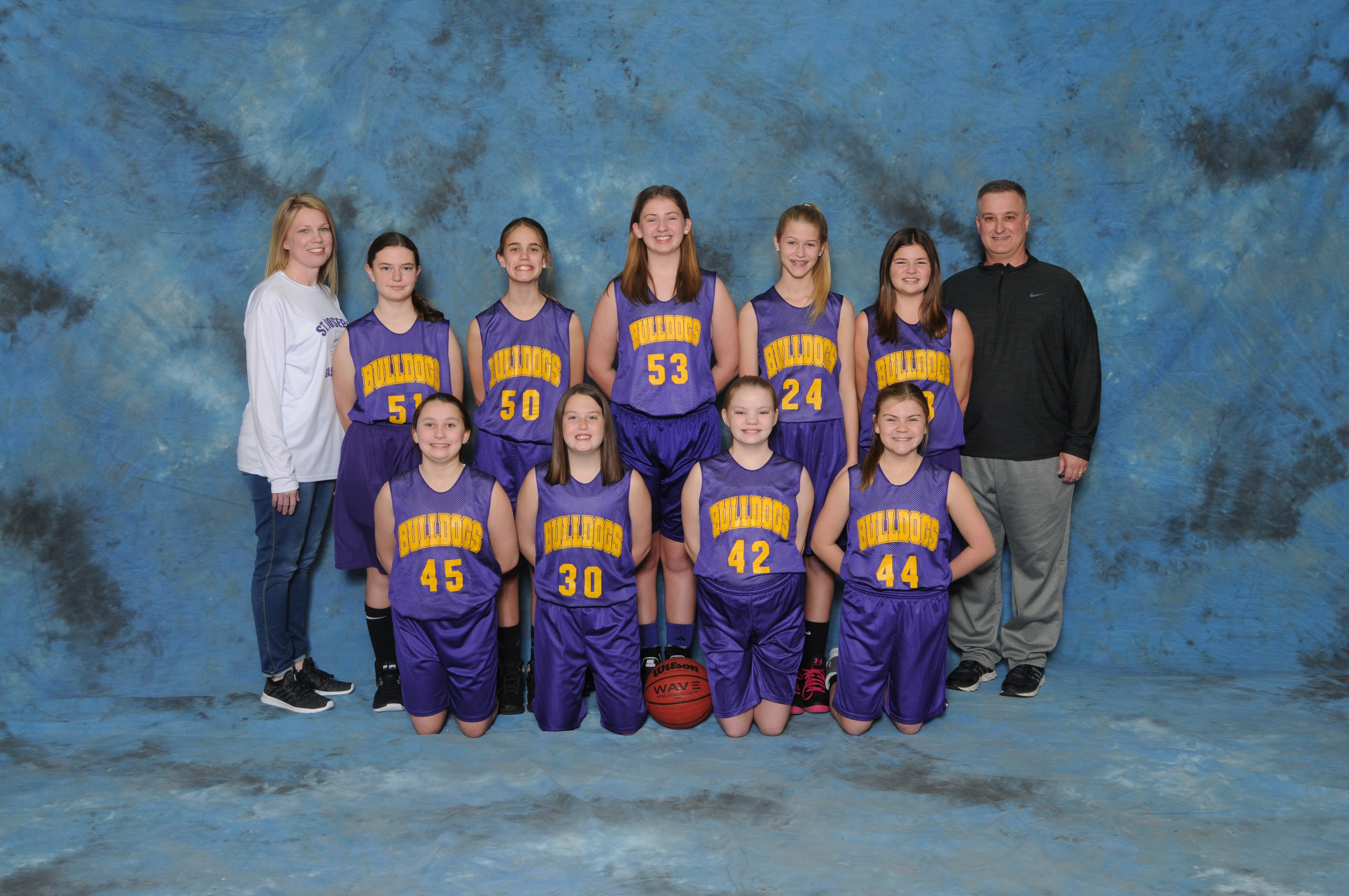 2017-2018 Girls 6th Grade Pee-Wee Basketball
