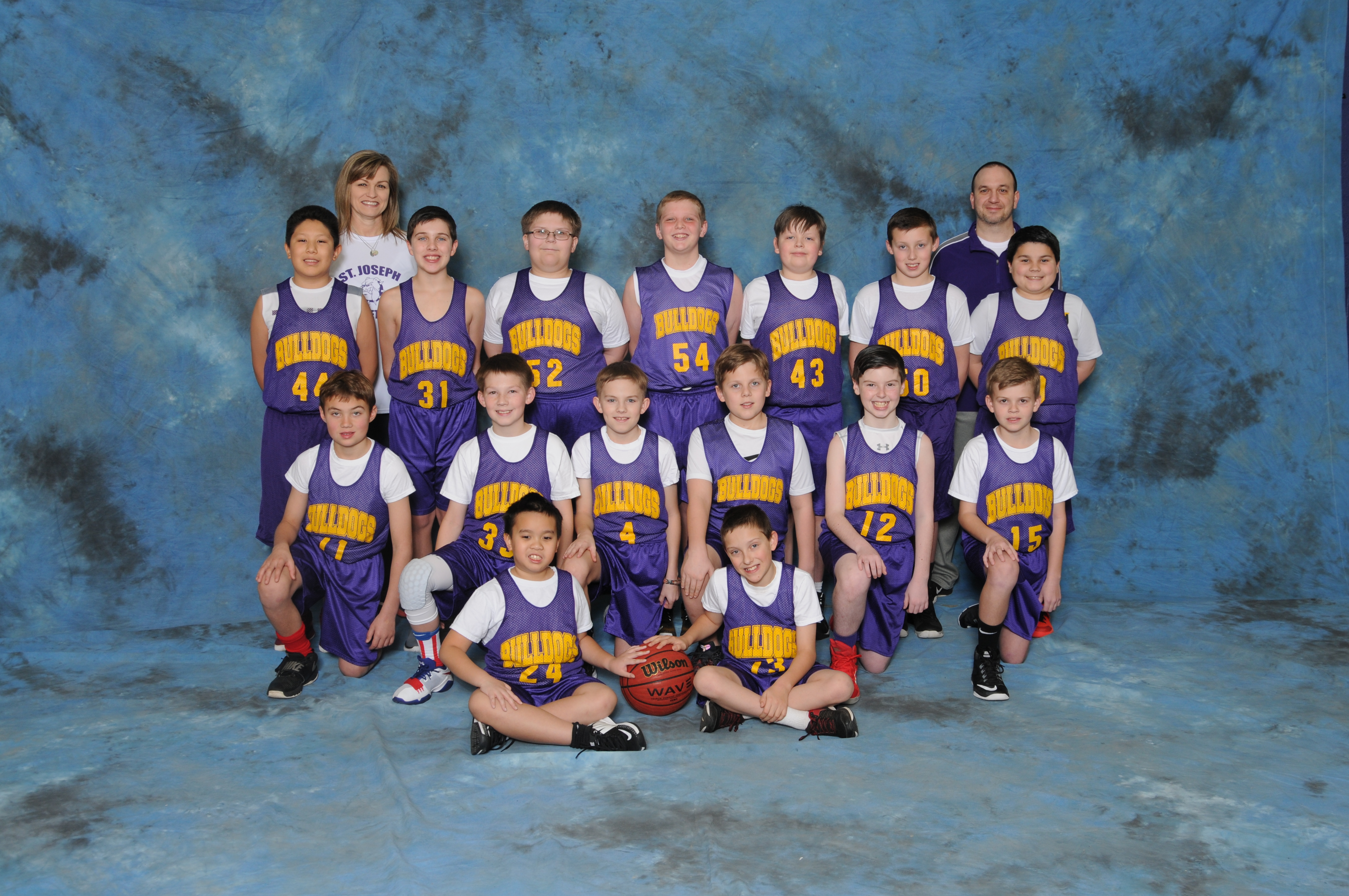 2017-2018 Boys 5th Grade Pee-Wee Basketball