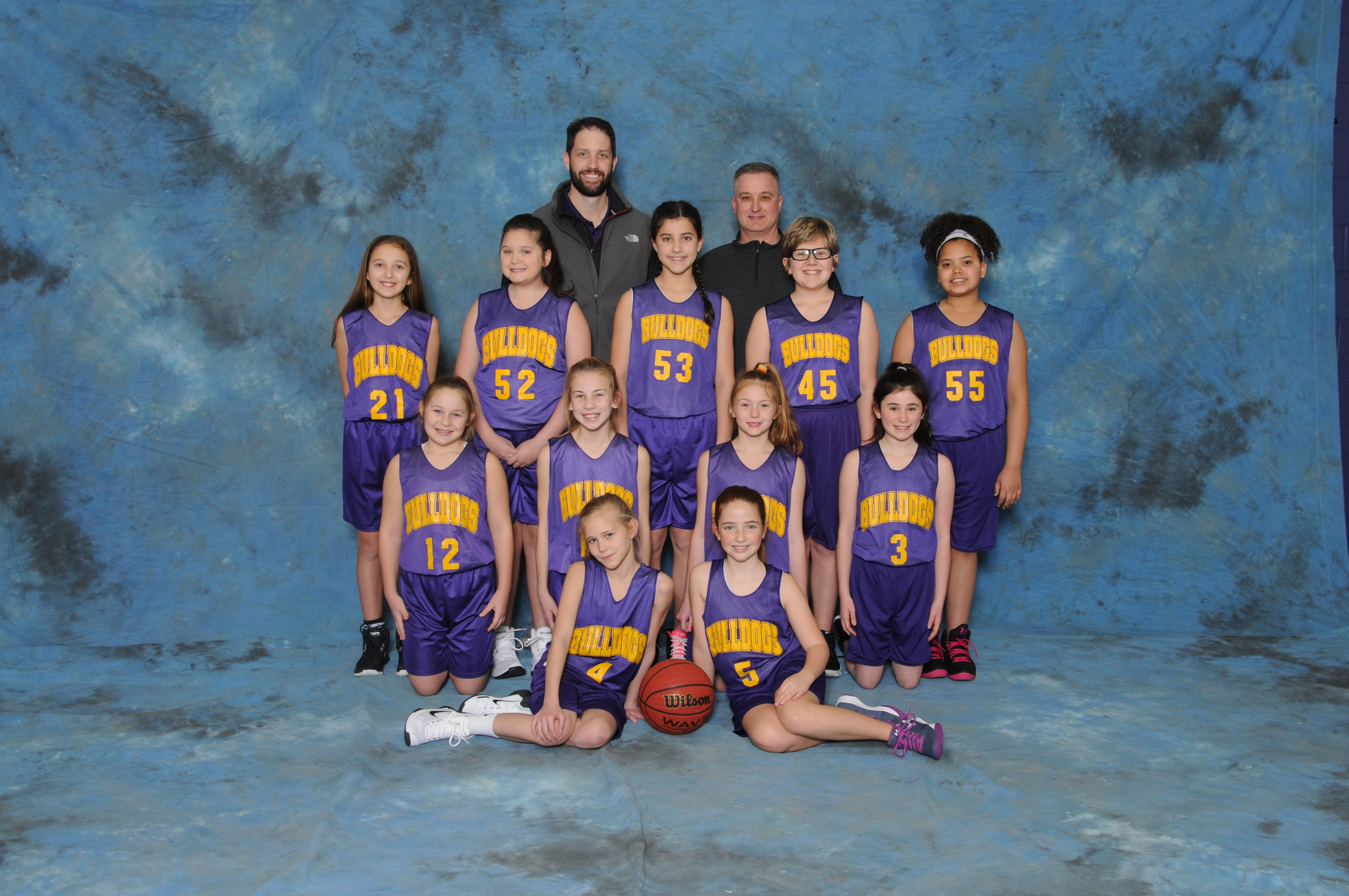 2017-2018 Girls 5th Grade Pee-Wee Basketball