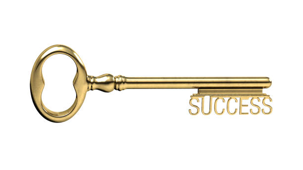 Image: key to success