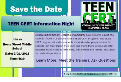 Cert Teen Parents's Night