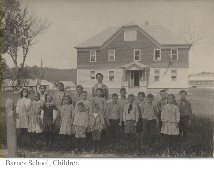 Barnes School with Children