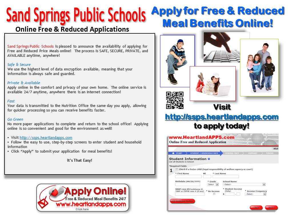 Online Free & Reduced Applications