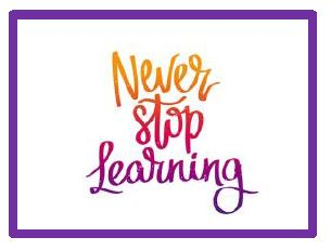 Image: Never Stop Learning