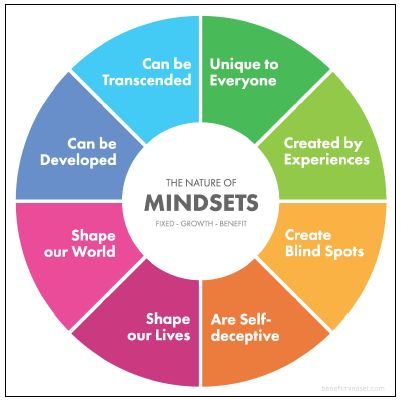 The Nature of Mindsets Graphic