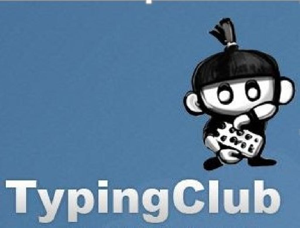 Typing Club logo and link