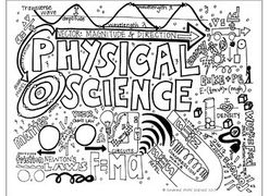 Physical Science Coloring Sheet
