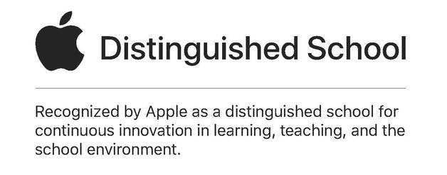 Apple Distinguished School Banner