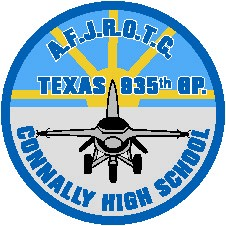 AFJROTC Texas 835th BP Connoly High School Patch