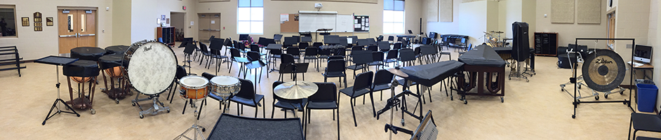 band room panorama