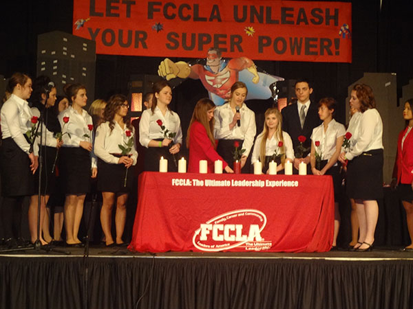 Let FCCLA Unleash your super power: FCCLA: The Ultimate Leadership Experience