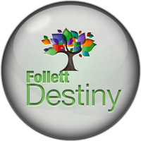 Follett Destiny Button