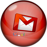Gmail Logo Button