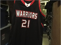Basketball Jersey: Warriors 21