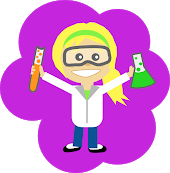 Scientist clipart girl