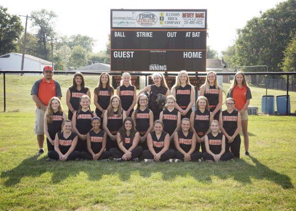 2017 Girls' Softball Team