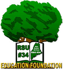 RSU 34 Education Foundation Tree Logo
