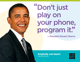 Hour of Code Obama Quote