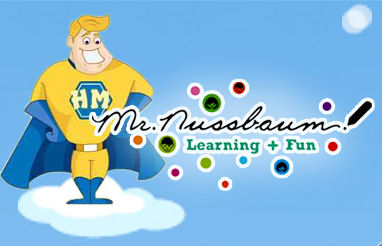 Mr. Nussbaum's Game Site Logo