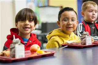You can find school menus and nutritional information online