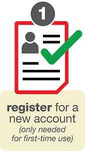 Register New Accounts