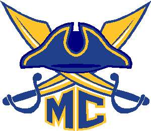 MC Hat and swords logo