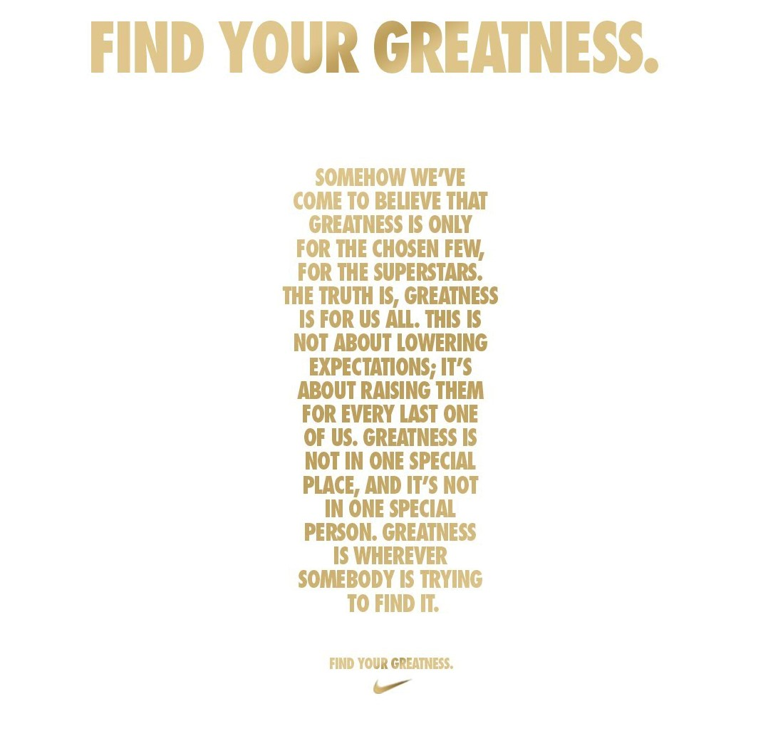 Image: Find your Greatness