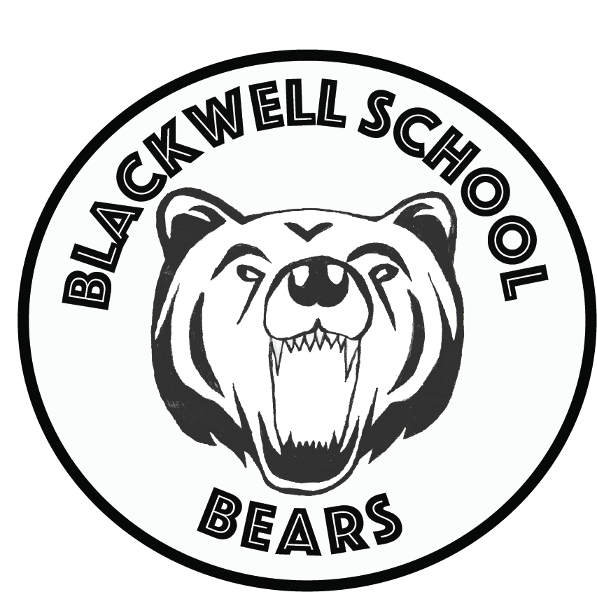 Blackwell School Logo - bear head