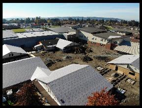 Blaine School District Campus Aerial View